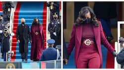 Michelle Obama's outfit at Biden's inauguration thrills internet