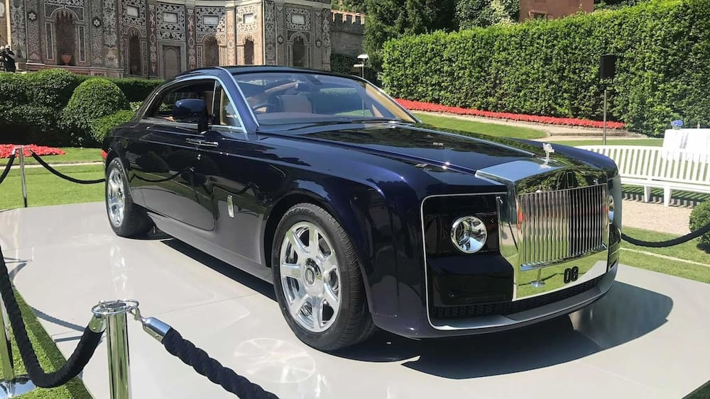 A picture showing the second most expensive car.  Photo source: Motor1