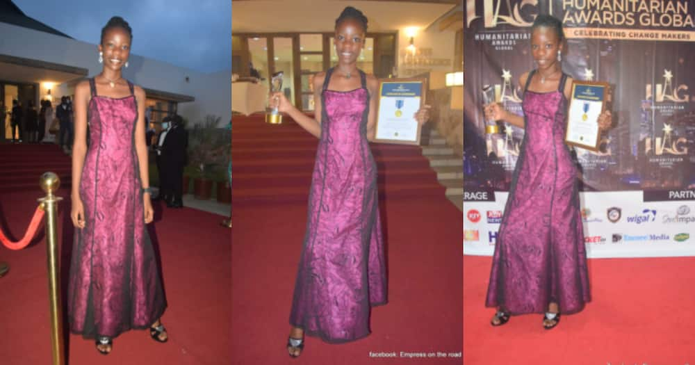 Empress Amoah: 12-year-old Girl Building Schools for Rural Folks Wins Philanthropist of the Year Award