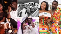With you, love is beautiful - Tracy Sarkcess celebrates Sarkodie 's birthday with sweet message & lovely family photos