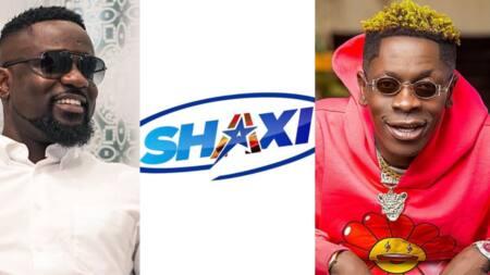 "Sarkodie supports Shatta's new business venture 'SHAXI"""