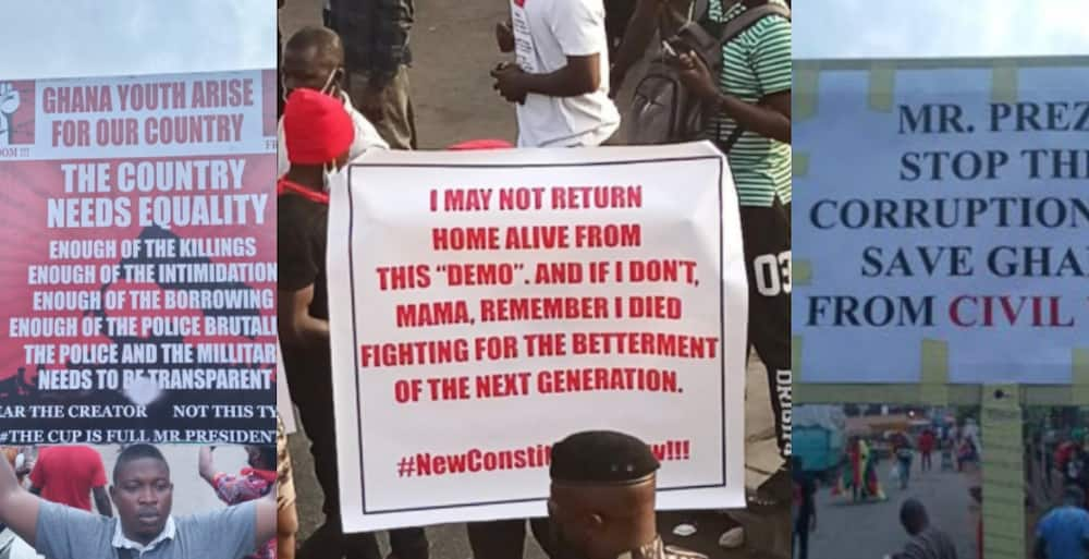 FixTheCountry: Many Display Thought Provoking Placards at the On-going Demo