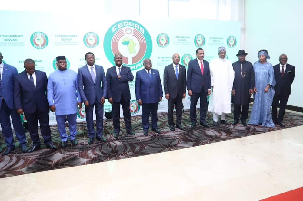 Top ECOWAS leaders in Ghana over political crisis in Mali
