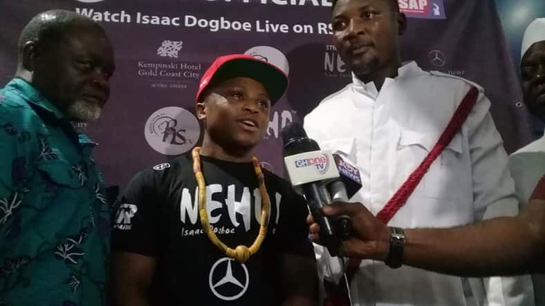 Isaac Dogboe arrives in Ghana after title loss