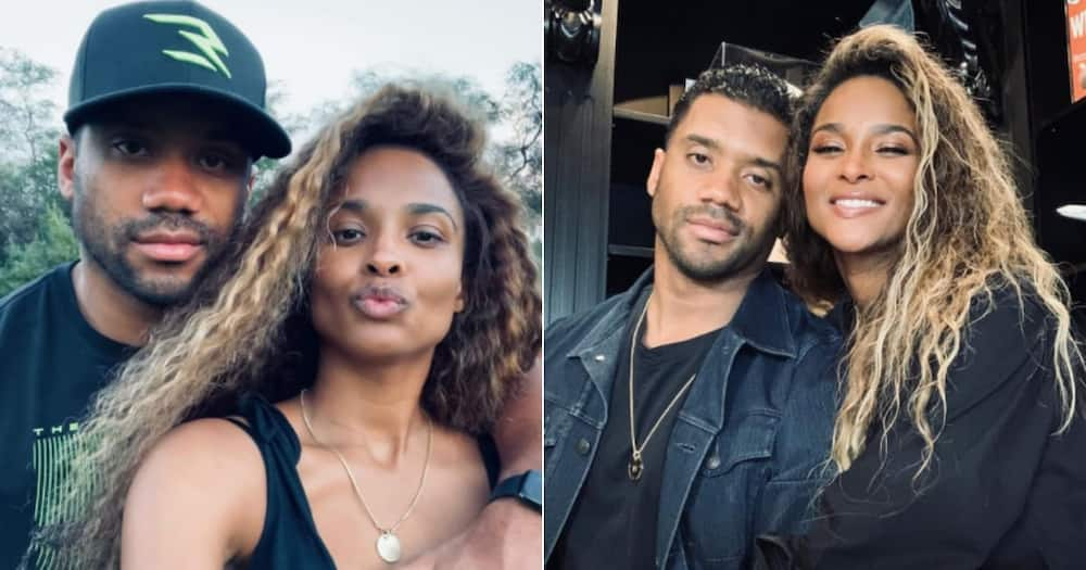 Ciara and hubby Russell Wilson have a saucy photoshoot, timeline reacts