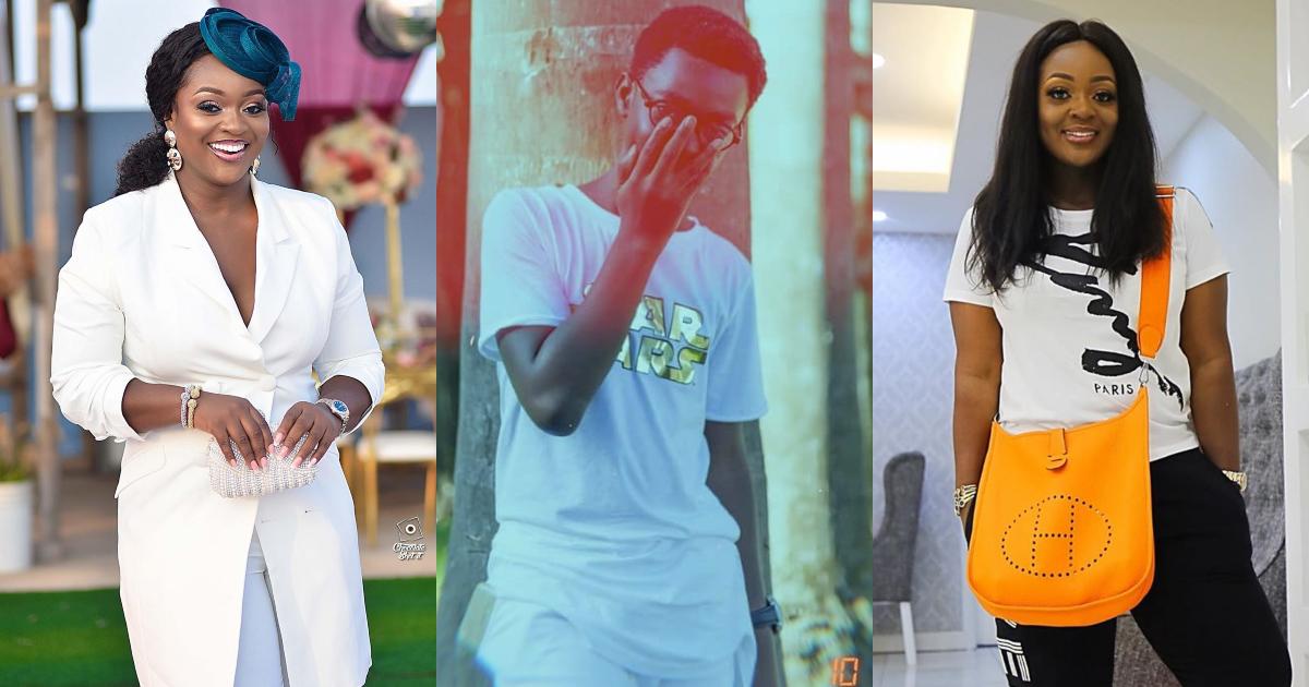 Jackie Appiah's son flaunts wealth; drops expensive modern bathroom photo
