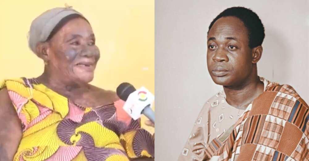 Comfort Boko Mensah: 80 year old says Kwame Nkrumah made her first female tractor driver in Ghana