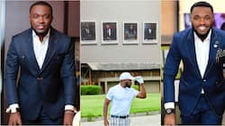 Despite's 1st son Kennedy Osei studying to become a lawyer; photos of his internship at East Legon law firm pop up
