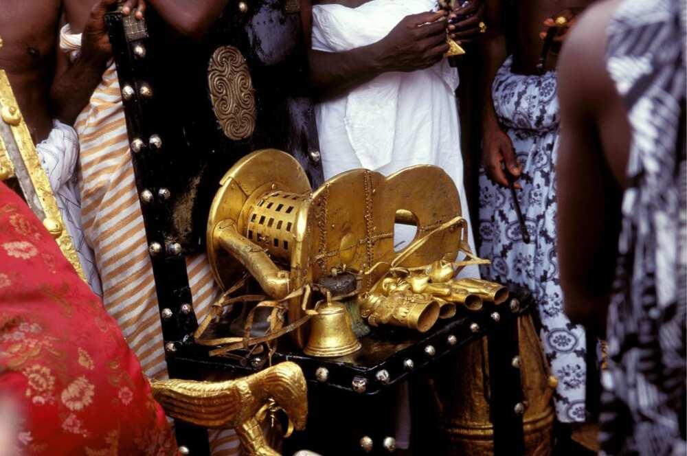 Golden stool in Ghana