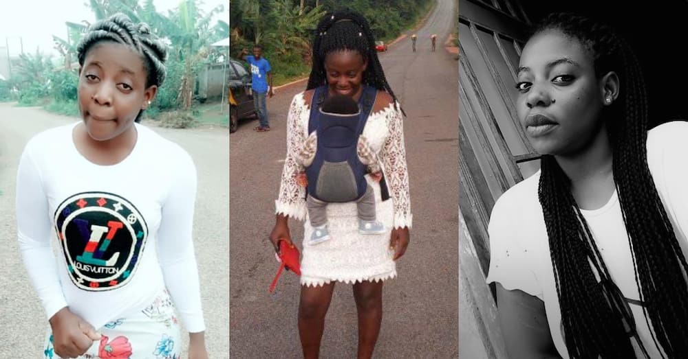 Ruff Benny Randa: Married lady with Child Being Wrongfully Circulated Online as Prostitute with HIV