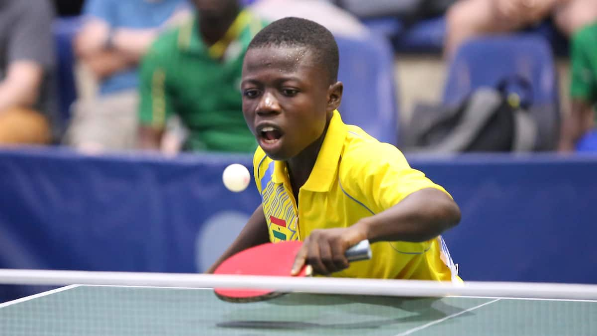 Ibrahim Gado Nuhu makes history; wins Ghana's first gold medal in Table Tennis after 39 years