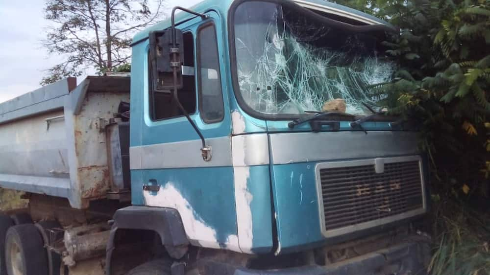In Eastern Region: 5 perish as Ford bus crashes into spoilt tipper truck