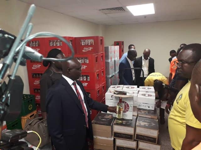 GRA storm Kempinski, Movenpick to seize stampless products