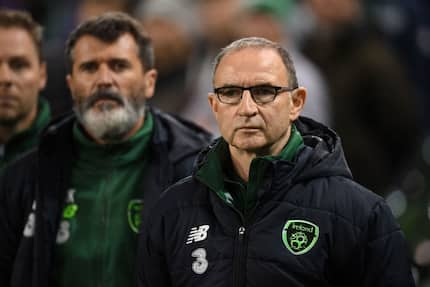 Ireland manager Martin O'Neill, assistant Roy Keane resign after pitiful performance