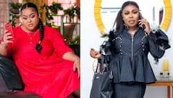 Afia Schwar drops more fila on Vivian Jill's baby daddy; says he is not the real father of their half-caste son