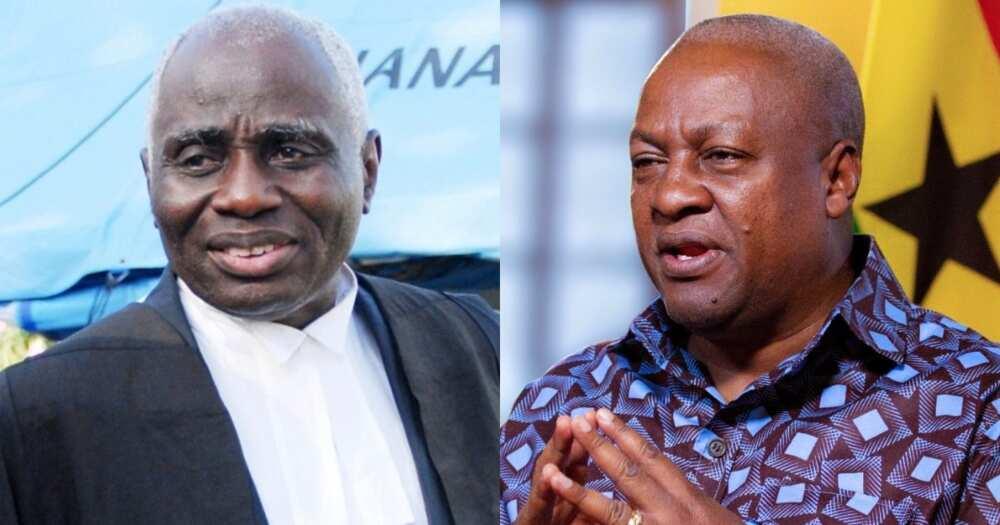Election petition: Tsatsu Tsikata represented me in court free of charge – Mahama