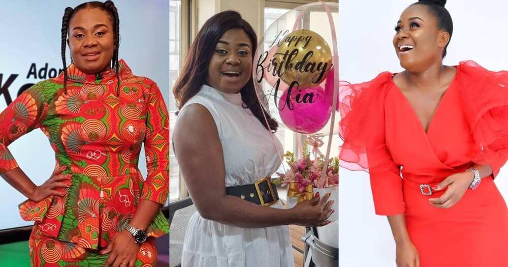 Afia Amankwaah Tamakloe Celebrates Birthday; Shares Beautiful Photos