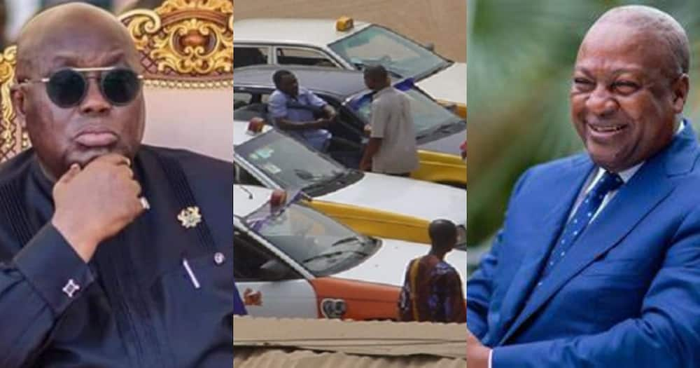 Drivers apologise to Mahama for not campaigning for him