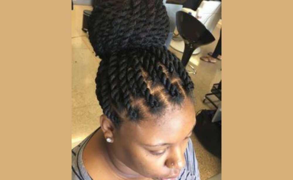 kinky braids