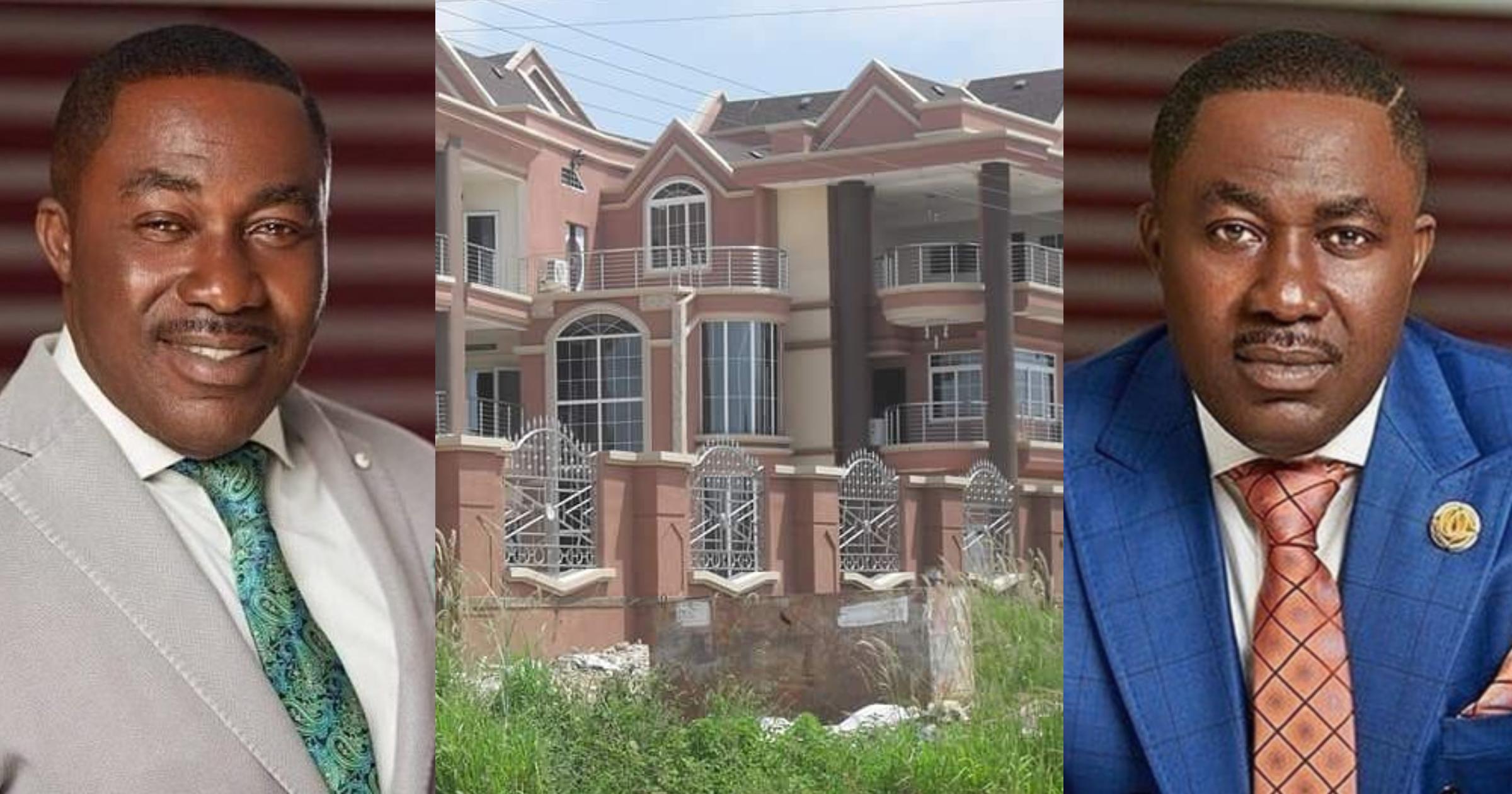Despite: Photos of Osei Kwame's latest mansion pop up
