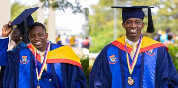 Meet the UCC valedictorian who once sold banku and soup to make ends meet (Photos)