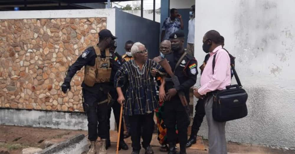 Western Togoland leader Papavi Hogbedetor granted a GHC16k bail with sureties