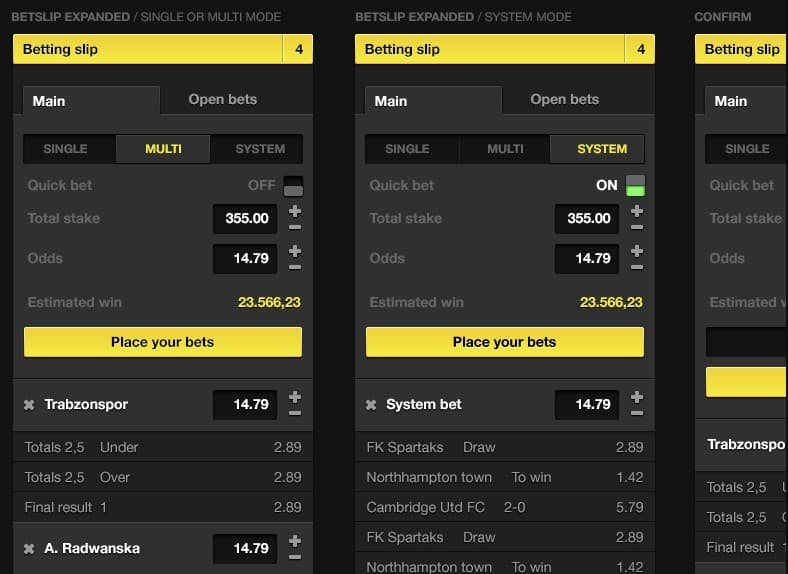 What is a betslip and how to use in betting
