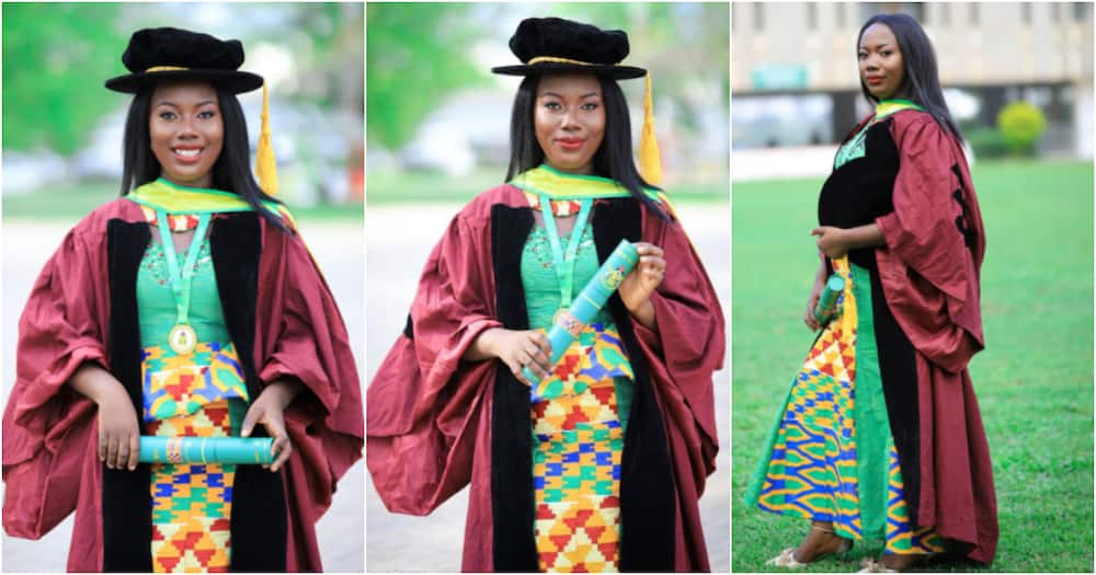 Dr Rose-Mary Gyening: Ghanaian mom becomes 1st to earn PhD in Computer Science from KNUST