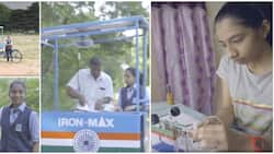 14-year-old girl invents solar-powered ironing cart, better than electric & charcoal irons