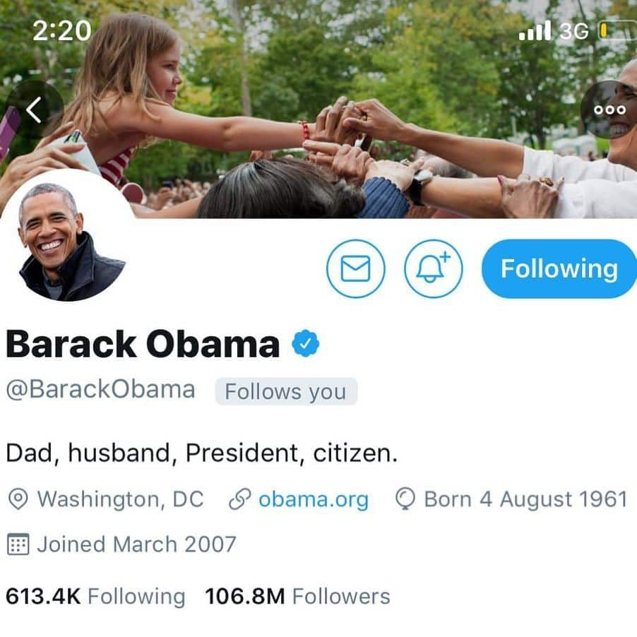 Obama follows Pappy Kojo on Twitter and the musician is excited