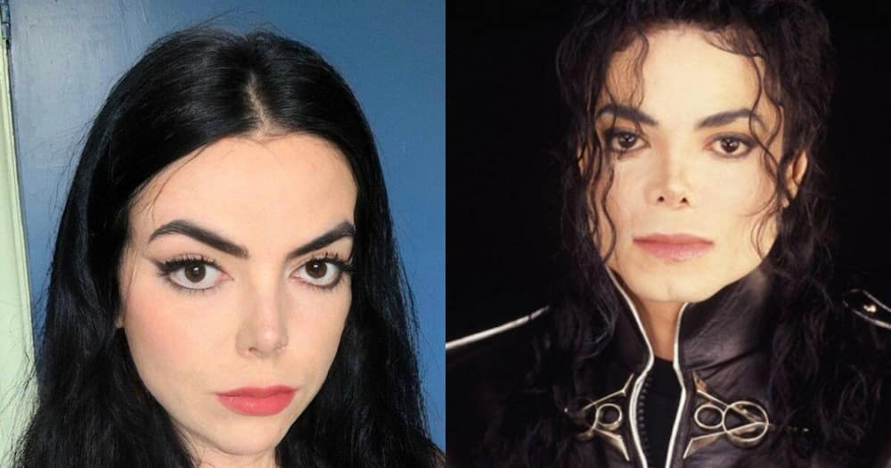 Meet the woman who shares a shocking resemblance to Micheal Jackson
