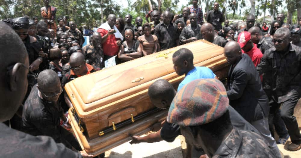 Residents of Abuakwa North in the Eastern Region banned from bringing corpses home before burial