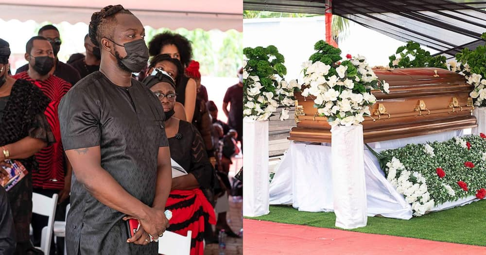 Eddie Nartey Drops Emotional Photos And Message After Burying His Wife; Celebs React
