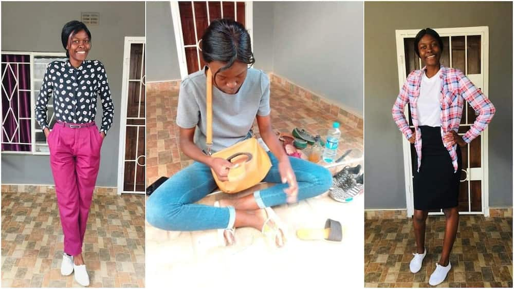 Nursing Student Turns Shoe Repairer, Reveals how it all Started, her Story Generates Reactions