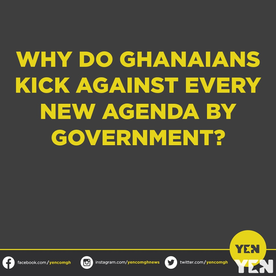 Ghanaians give interesting views why they have been kicking against every agenda of government