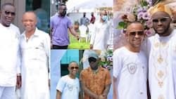 Fadda Dickson: 5 photos of Despite's right-hand man in amazing Africa attires as he poses with top stars
