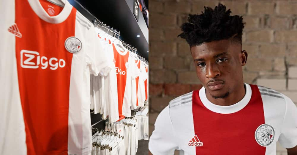 Classic Kudus: Picture of Ghanaian modelling new Ajax jersey pops up