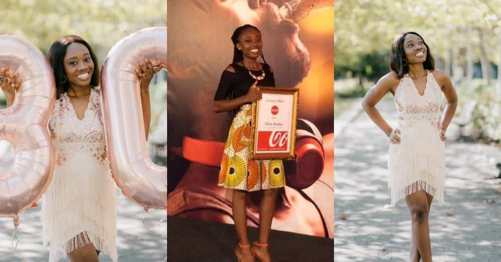 Award-winning Ghanaian medical doctor boils the web with photos on birthday