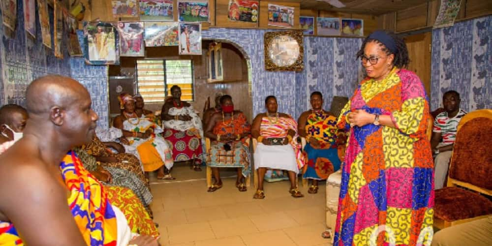 Lordina Mahama starts massive campaign for Mahama after news that she packed out of his house