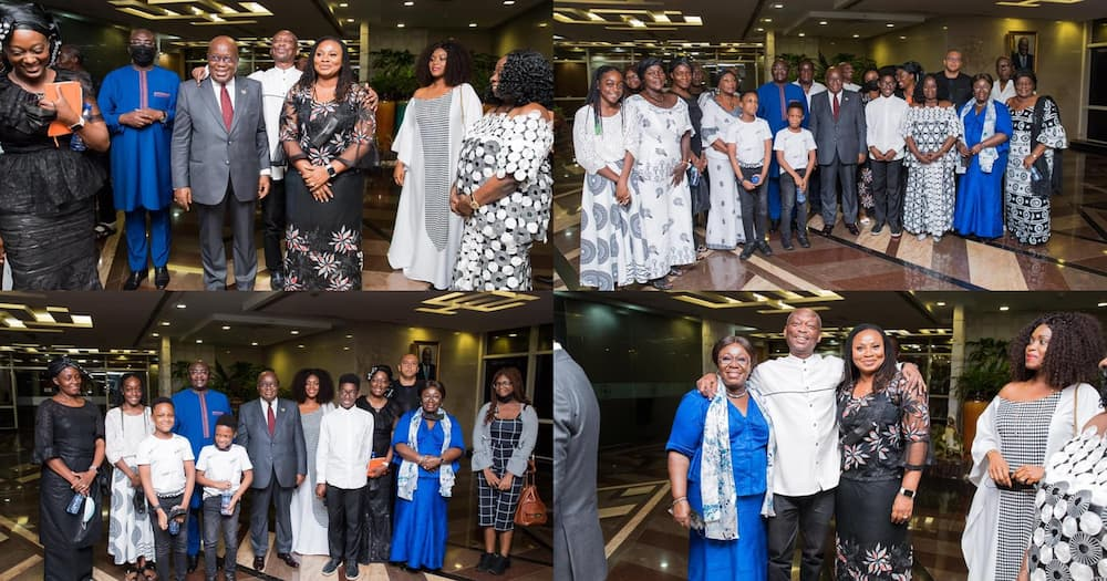 Akufo-Addo Meets Charlotte Osei For the 1st Time After Sacking Her; Photos Stir Reactions