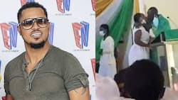 Repulsive in my opinion; Van Vicker trashes priest for kissing students in viral video