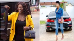 15 female Ghanaian celebs and the powerful cars they drive (photos)