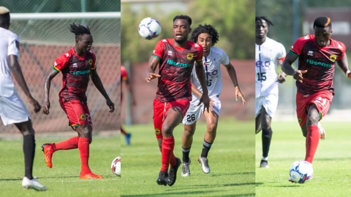 Kotoko beaten by UAE 2nd Division side Al Hilal United in pre-season friendly