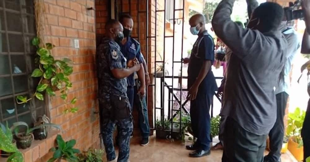 Gay office in Kwabenya have been closed down by Police officers
