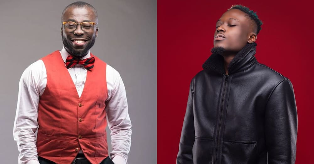 Andy Dosty sacks Yie Yie rapper Okesse 1 from Hitz FM for being late for an interview (video)