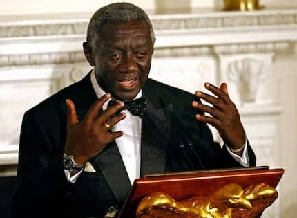 I haven't been paid my ex-gratia – John Kufuor cries for his pension money