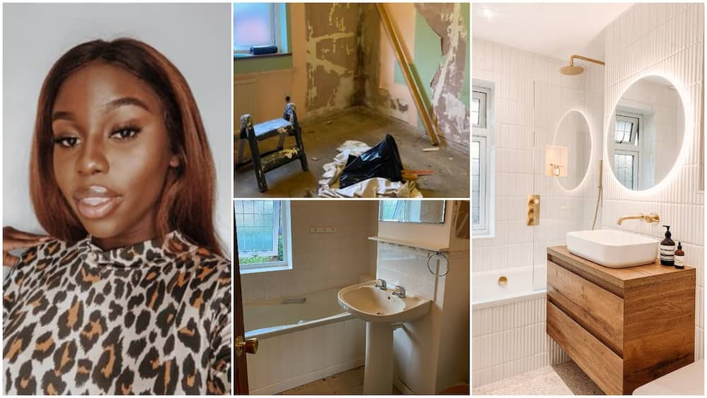 Pretty lady buys a house, renovates it to suit her taste, shares cool interior photos