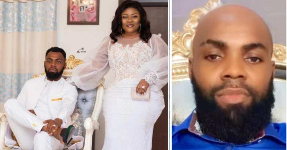 Ciara Antwi: Obofour's goes gaga over latest 'sakora' photos of her husband