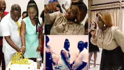 Suro nipa - Old video of Tracey Boakye jamming with Akua GMB and Dr Kwaku Oteng pops up; fans react
