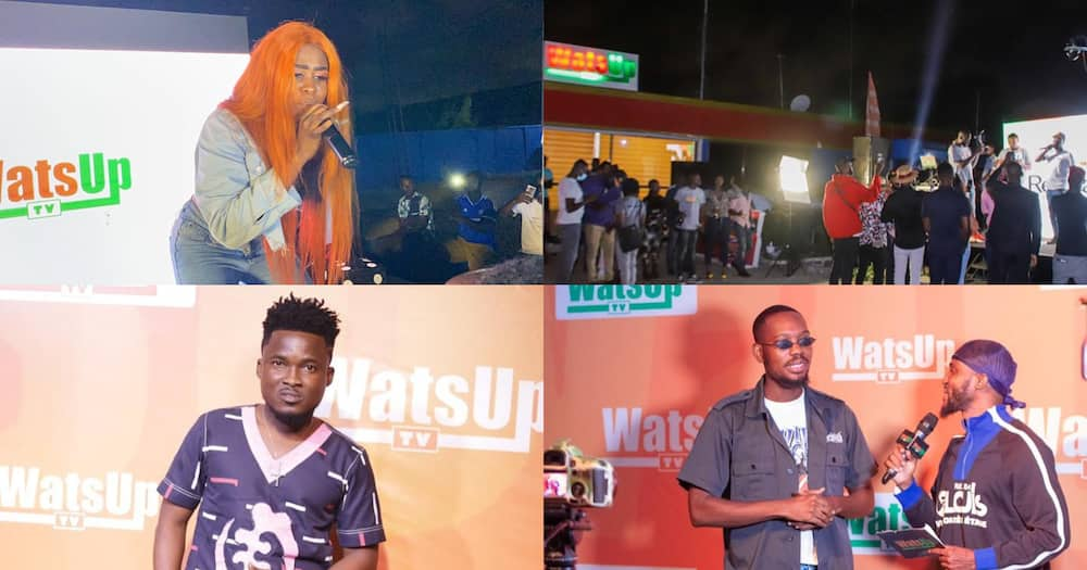 WatsUp TV outdoors 24 hour channel with star-studded launch